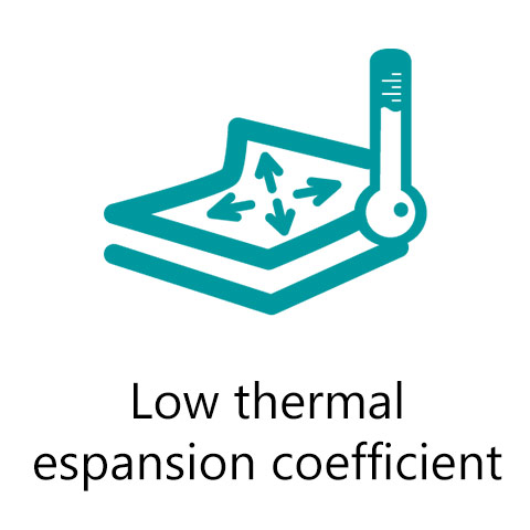 low thermal expansion