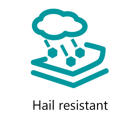 hail resistant